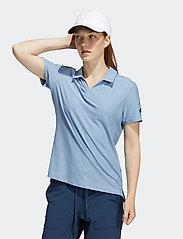 adidas Golf - GO-TO SS P - polos - crenav/ambsky - 0