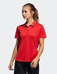 adidas Golf - PERF SS P - polos - colred - 0