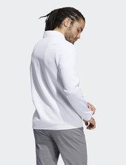 adidas Golf - DWR 1/4 ZIP - sweats - white - 3