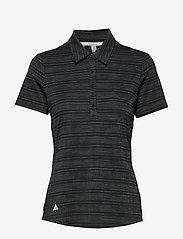 adidas Golf - W NVLTY SS P - polos - black/white - 0