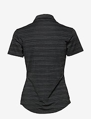adidas Golf - W NVLTY SS P - polos - black/white - 1
