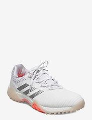 adidas Golf - W CODECHAOS - golf shoes - ftwwht/silvmt/sigcor - 0