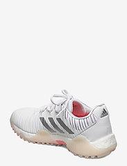 adidas Golf - W CODECHAOS - golf shoes - ftwwht/silvmt/sigcor - 2