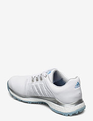 adidas Golf - W TOUR360 XT-SL - golf shoes - ftwwht/silvmt/ltblue - 2