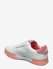 adidas Golf - W ADICROSS RETRO - golf shoes - ftwwht/glopnk/ftwwht - 2