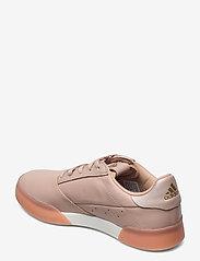adidas Golf - W ADICROSS RETRO - golf shoes - ashpea/goldmt/cwhite - 2