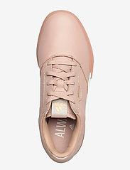 adidas Golf - W ADICROSS RETRO - golf shoes - ashpea/goldmt/cwhite - 3