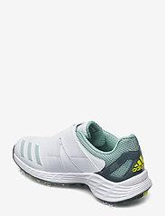 adidas Golf - W ZG21 BOA - golf shoes - ftwwht/aciyel/hazgrn - 2