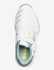 adidas Golf - W ZG21 BOA - golf shoes - ftwwht/aciyel/hazgrn - 3