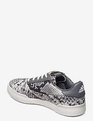 adidas Golf - W ADICROSS RETRO - golf shoes - cwhite/grefou/ftwwht - 2