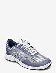 adidas Golf - W ALPHAFLEX SPORT - golf shoes - ftwwht/tecind/ftwwht - 0