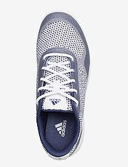 adidas Golf - W ALPHAFLEX SPORT - golf shoes - ftwwht/tecind/ftwwht - 3
