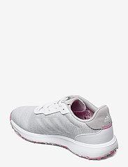 adidas Golf - W S2G SL - golf shoes - grethr/ftwwht/scrpnk - 2