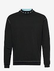 adidas Golf - EQPMNT WIND CRW - golf jackets - black - 0