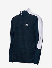 adidas Golf - PRINT 1/4 ZIP - sweats - crenav/black - 3