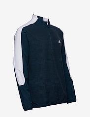 adidas Golf - PRINT 1/4 ZIP - sweats - crenav/black - 4