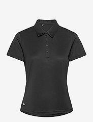 adidas Golf - PERF SS P - polos - black - 1