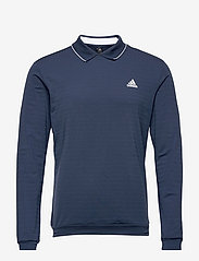 adidas Golf - LS THERMAL POLO - polos à manches longues - crenav - 1
