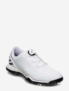 W ADIPOWER 4GED BOA - chaussures de golf - ftwwht/cblack/silvmt