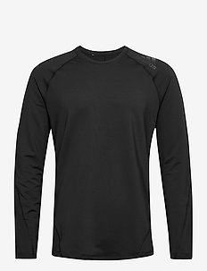 CLMWRM CREW - bluzki z długim rękawem - black
