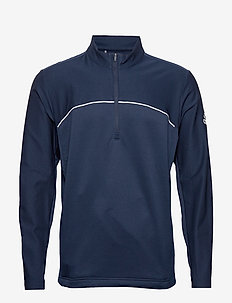 GO-TO 1/4 ZIP - COLLEGIATE NAVY