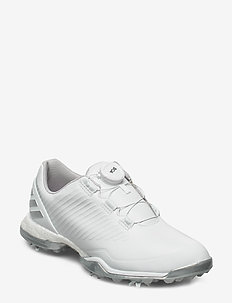 W ADIPOWER 4GED BOA - chaussures de golf - ftwwht/silvmt/greone