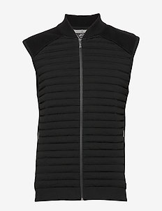 adiP Hybrd V KN - insulated jackets - black
