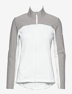 GOTO FL ZP JKT - sweats et sweats à capuche - white/mgsogr