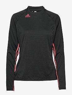 UPF MOCK LS - bluzki z długim rękawem - black