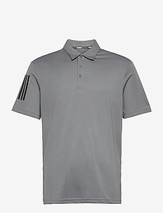 3-Stripe Basic - koszulki polo - grethr/black