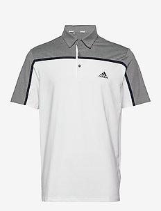 ult 365 3str - koszulki polo - white/grthme