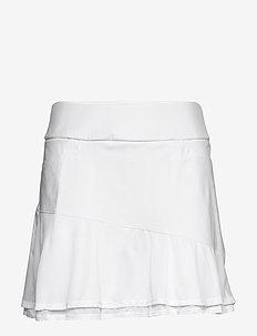 ULT FRILL SKORT - urheiluhameet - white