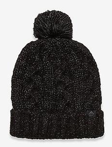 W POM BEANIE - kapelusze - black