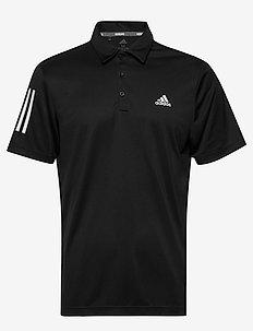 3-Stripe Basic - kurzärmelig - black/white