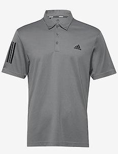 3-Stripe Basic - kurzärmelig - grethr/black