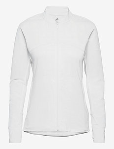 HYBRID F ZIP J - mid layer jackets - white