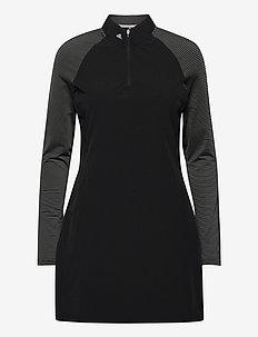 UPF50 LS DRESS - sportklänningar - black