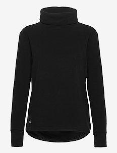 MOCK PLOVR - bluzy i swetry - black