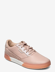 W ADICROSS RETRO - golf shoes - ashpea/goldmt/cwhite