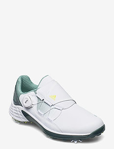 W ZG21 BOA - golf shoes - ftwwht/aciyel/hazgrn