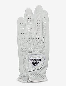 LEATHER GLOVE - golfutstyr - white/black