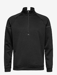 EQPMNT 1/4 Z - golf jackets - black