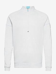 EQPMNT 1/4 Z - golfjakker - white/hazsky