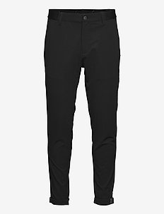 PIN ROLL PANT - golfbukser - black