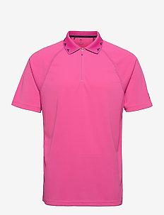 EQPMNT ZIP POLO - t-shirts - scrpnk