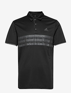 CORE POLO LC - pik - black/grefiv