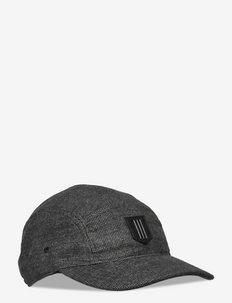 KILTED HAT - czapki - black
