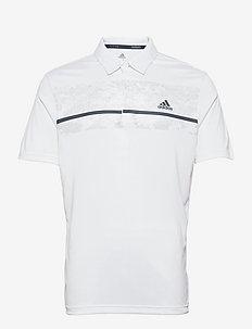 CHEST PRT POLO - koszulki polo - white