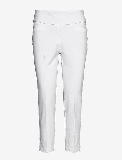 PULLON ANKL PT - golfbukser - white