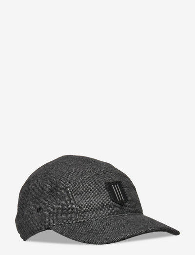 KILTED HAT - kepsar - black